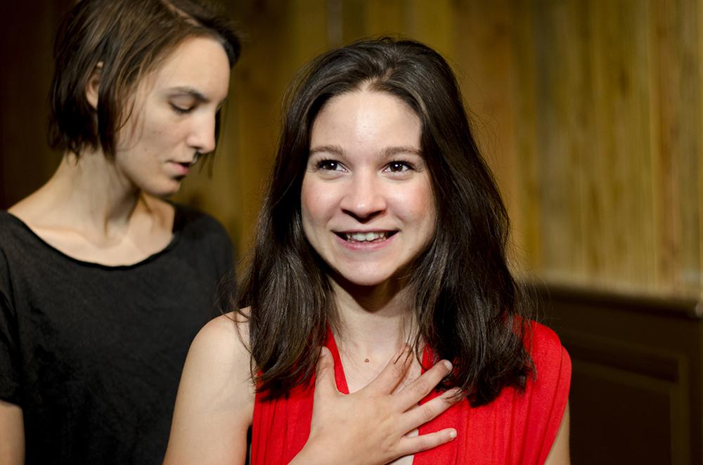 Les Bonnes Justine Petitjean comédienne Lyon