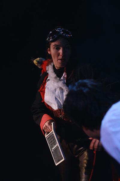 Marion Germain dans Raconte-moi une étoile de la Compagnie Pleine Louve au Rikiki Café Théâtre à Lyon