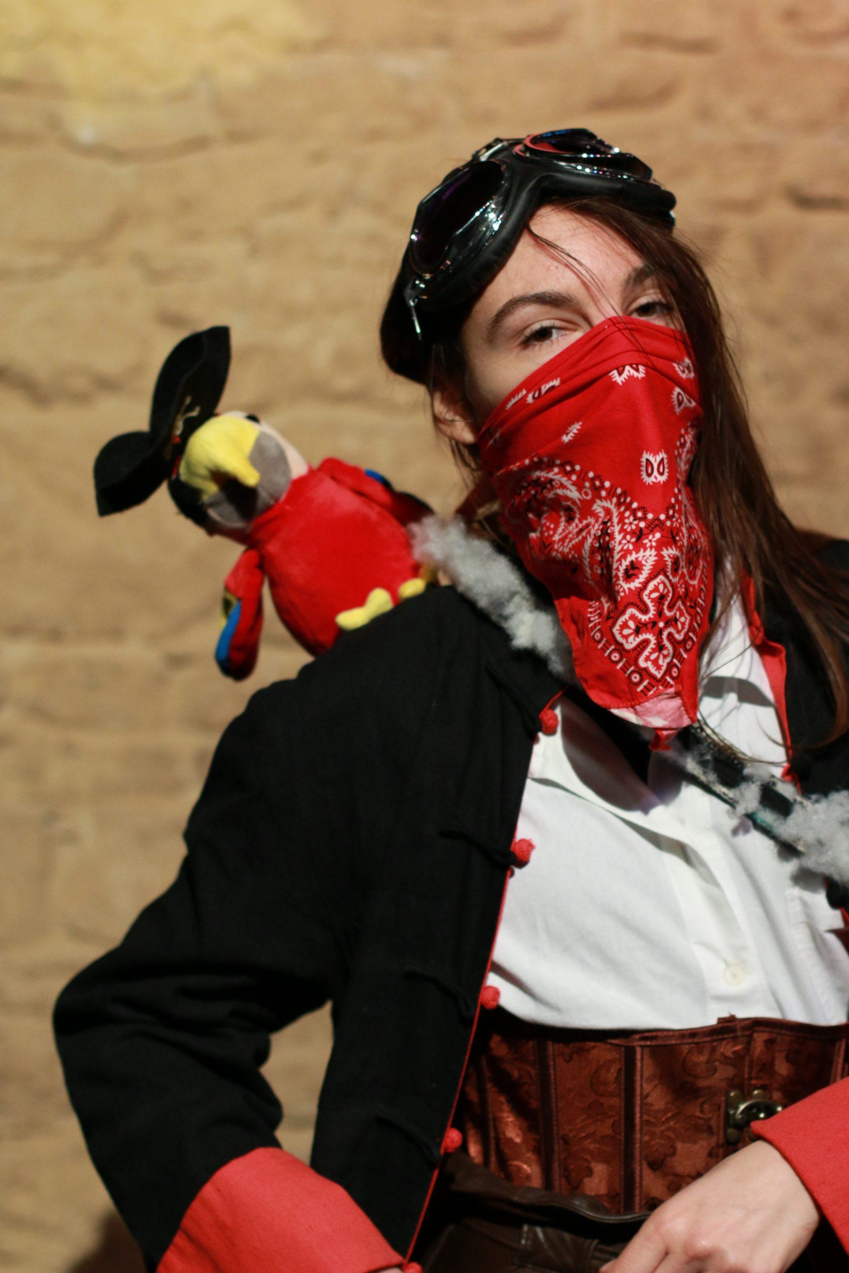 Marion Germain dans Raconte-moi une étoile le spectacle pour enfants de la compagnie pleine louve
