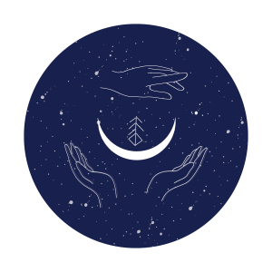 Logo Les Nébuleuses par Justine Petitjean